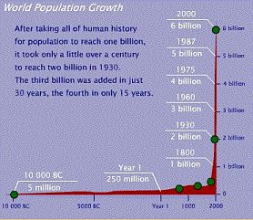 World population growth